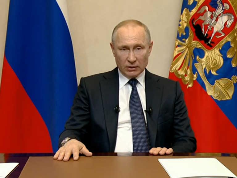 Владимир Путин вновь выступит с обращением к нации