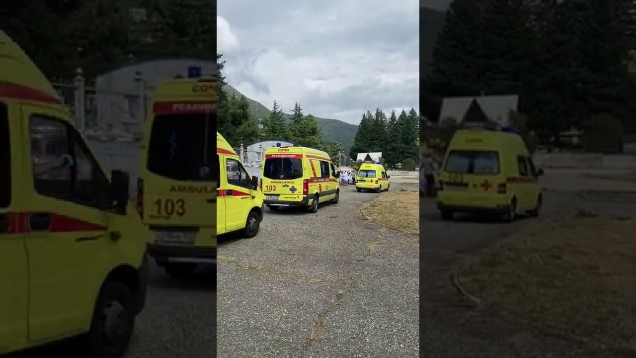 В Сочи группу туристов из Твери успешно эвакуировали на вертолете