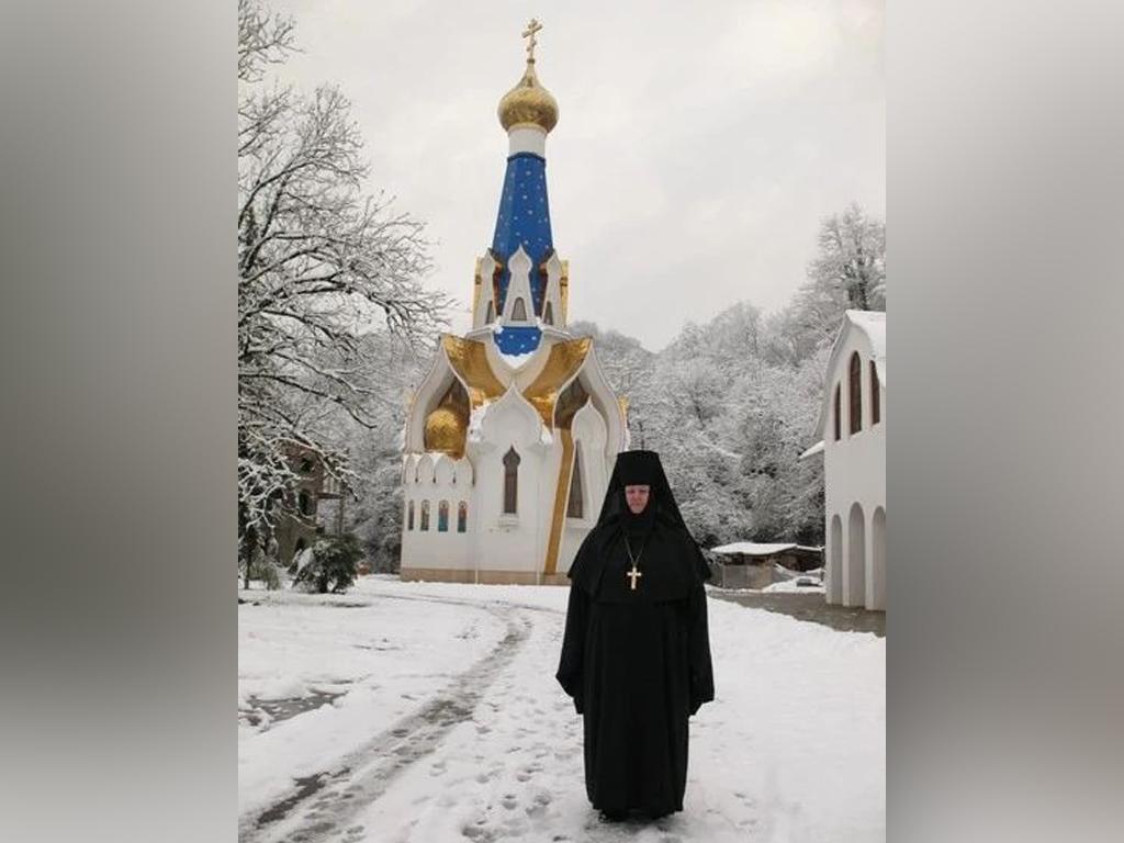 В Сочи скончалась настоятельница Троице-Георгиевского женского монастыря